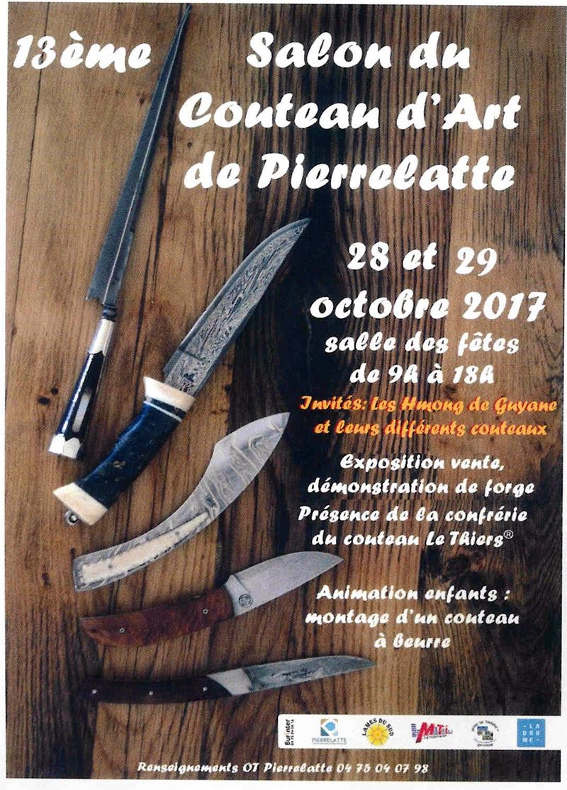 Salon du couteau d'art de Pierrelatte