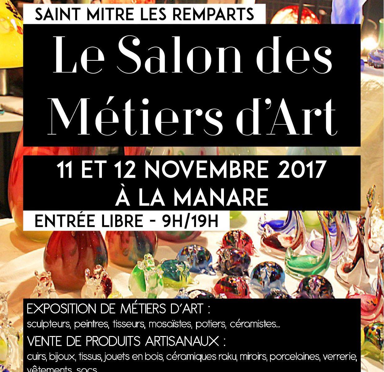 Affiche Salon des Métiers d'art